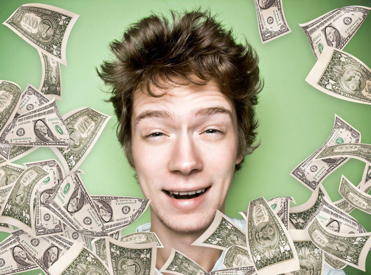 Подросток, располагающий финансами